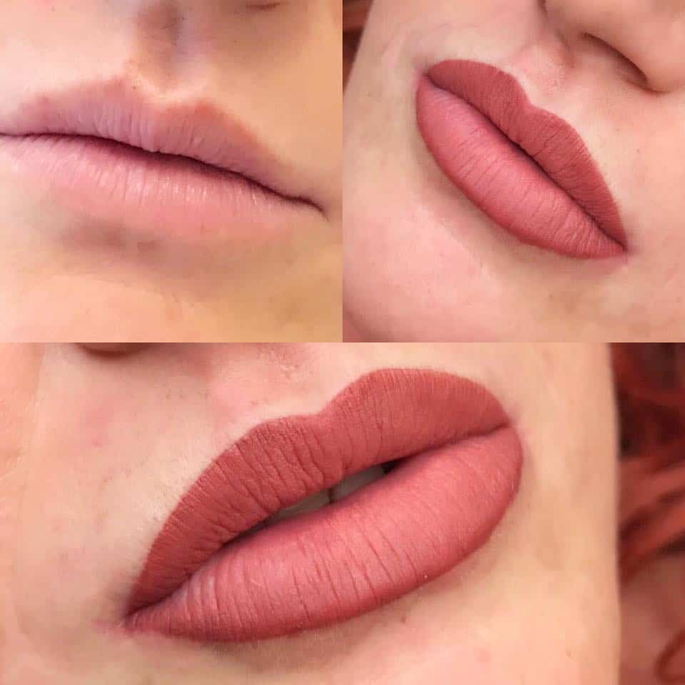 Example-Ombre-Lips Semi-Permanent Make-up -The Scalp  & Micro-pigmentation Experts Swindon