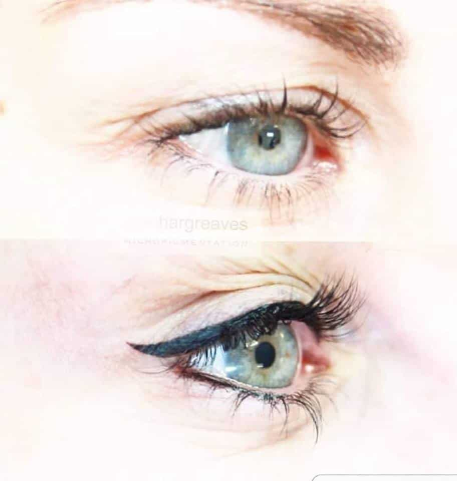 eyeliner1 Gallery for Semi-Permanent Make-up -The Scalp  & Micro-pigmentation Experts Swindon