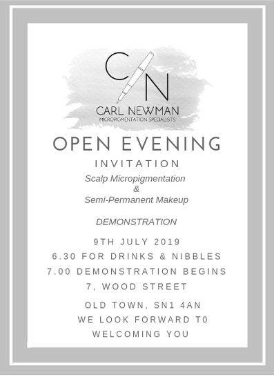 opening-evening Community -The Scalp  & Micro-pigmentation Experts Swindon